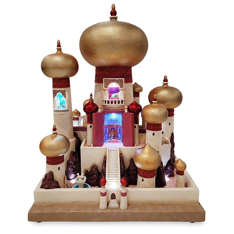 Jasmine Palace Castle Collection Light Up Figurine
