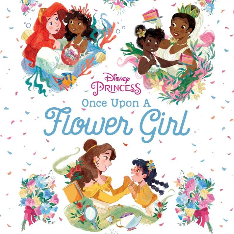 Disney Princess: Once Upon a Flower Girl book cover