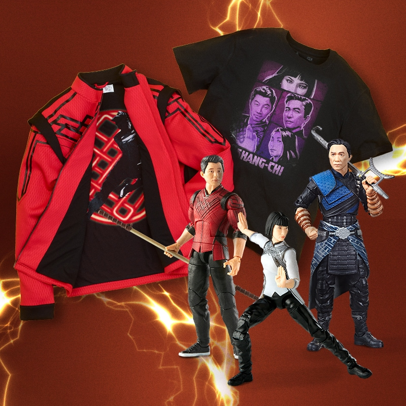 shopDisney merchandise from Shang-Chi and The Legend of The Ten Rings