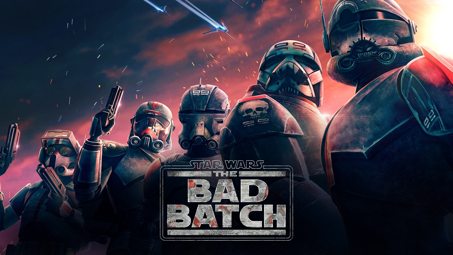 Star Wars: The Bad Batch keyart