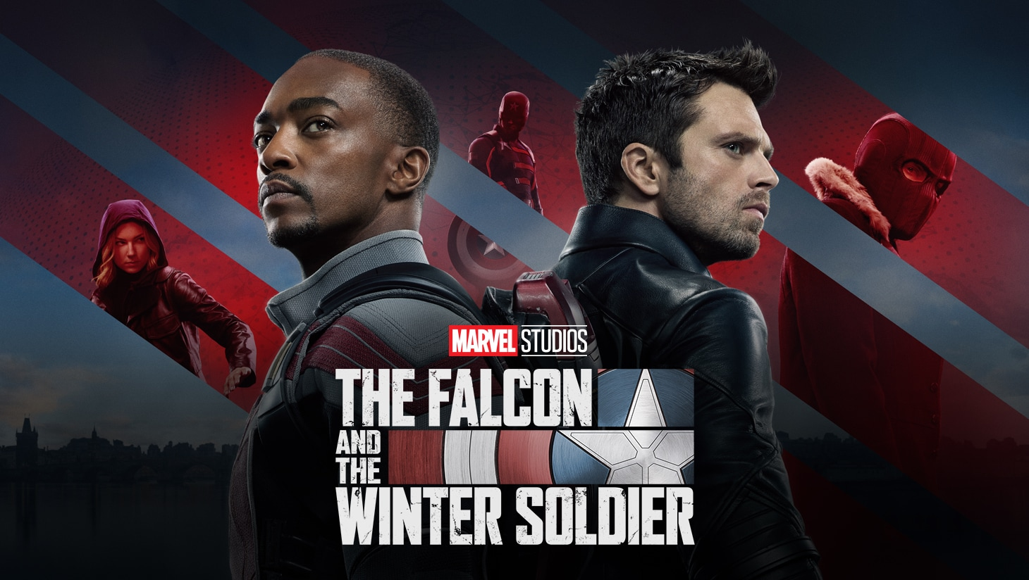 The Falcon and The Winter Soldier keyart