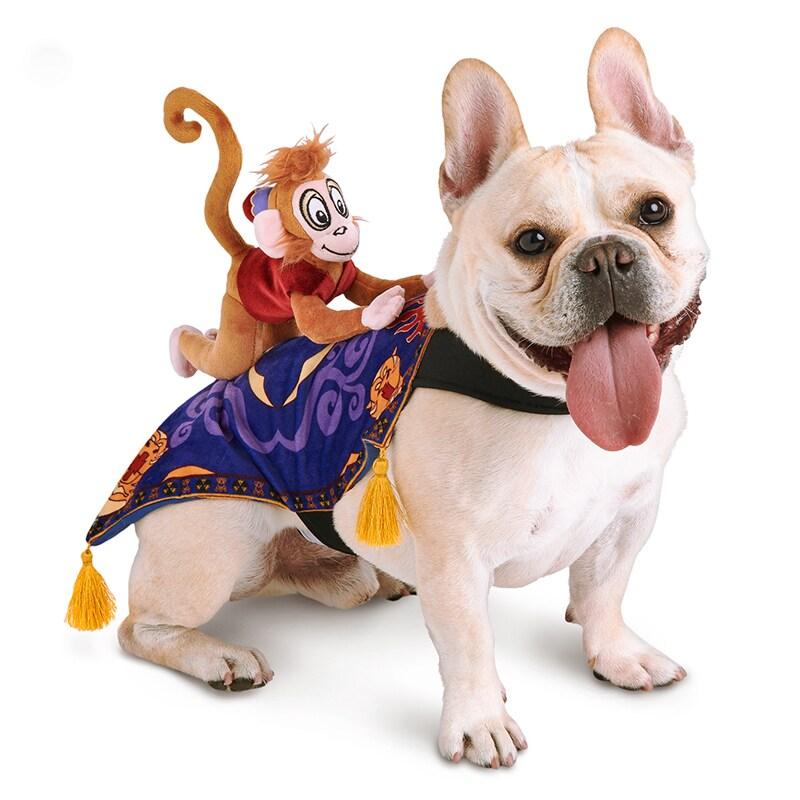 French Bulldog wears the Abu & Carpet Pet Costume