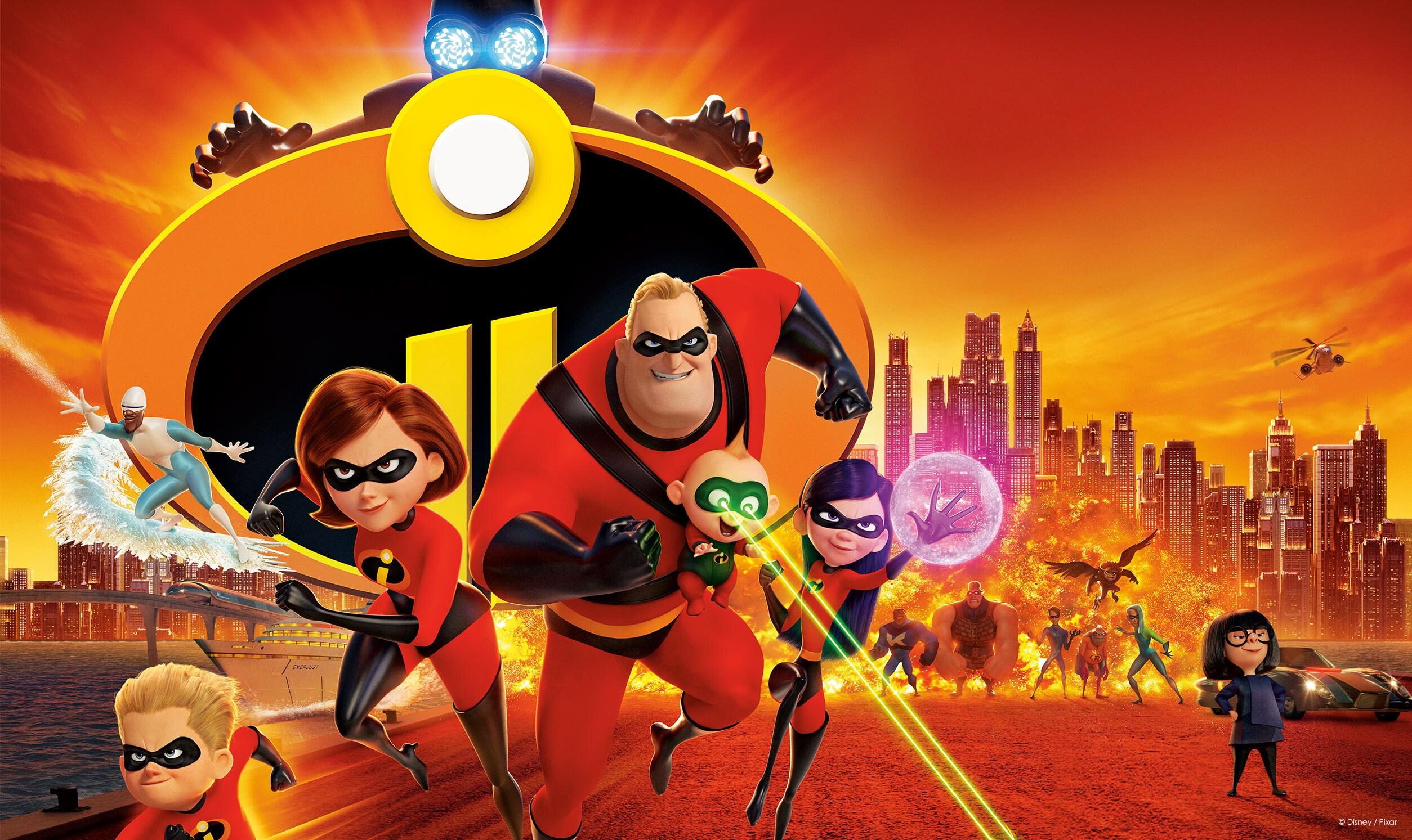 Incredibles 2 | TV disney movie