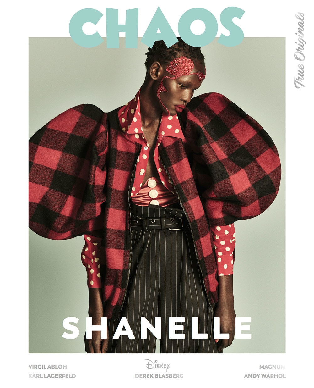 Shanelle Williams on a special edition cover for Chaos magazine