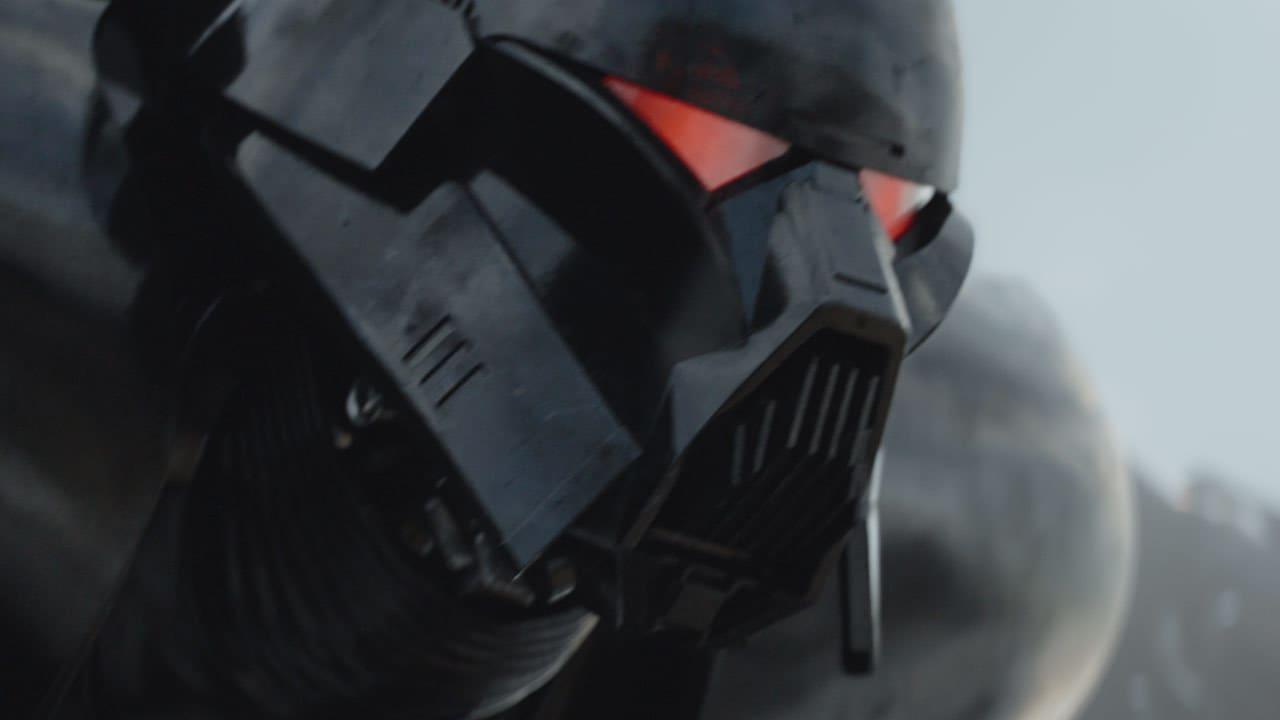"""""""Have the dark troopers been engaged?"""" - Moff Gideon"""