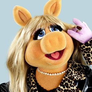 The muppets, Miss piggy and The o'jays on Pinterest