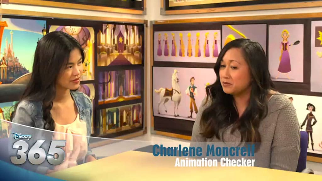 Disney 365 | Interview – Animation for Tangled: The Series - Disney Channel Asia