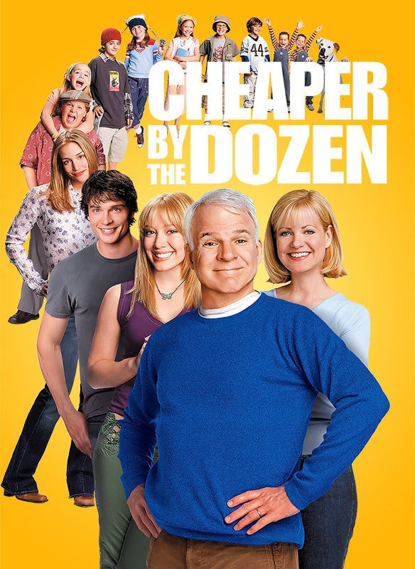 Cheaper By the Dozen movie poster