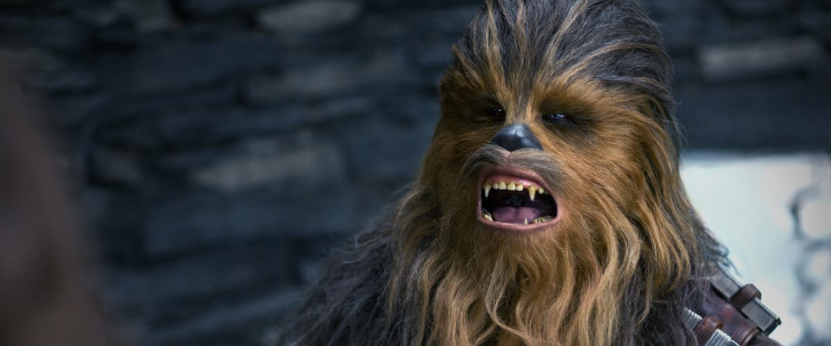 Chewbacca on Ahch-To