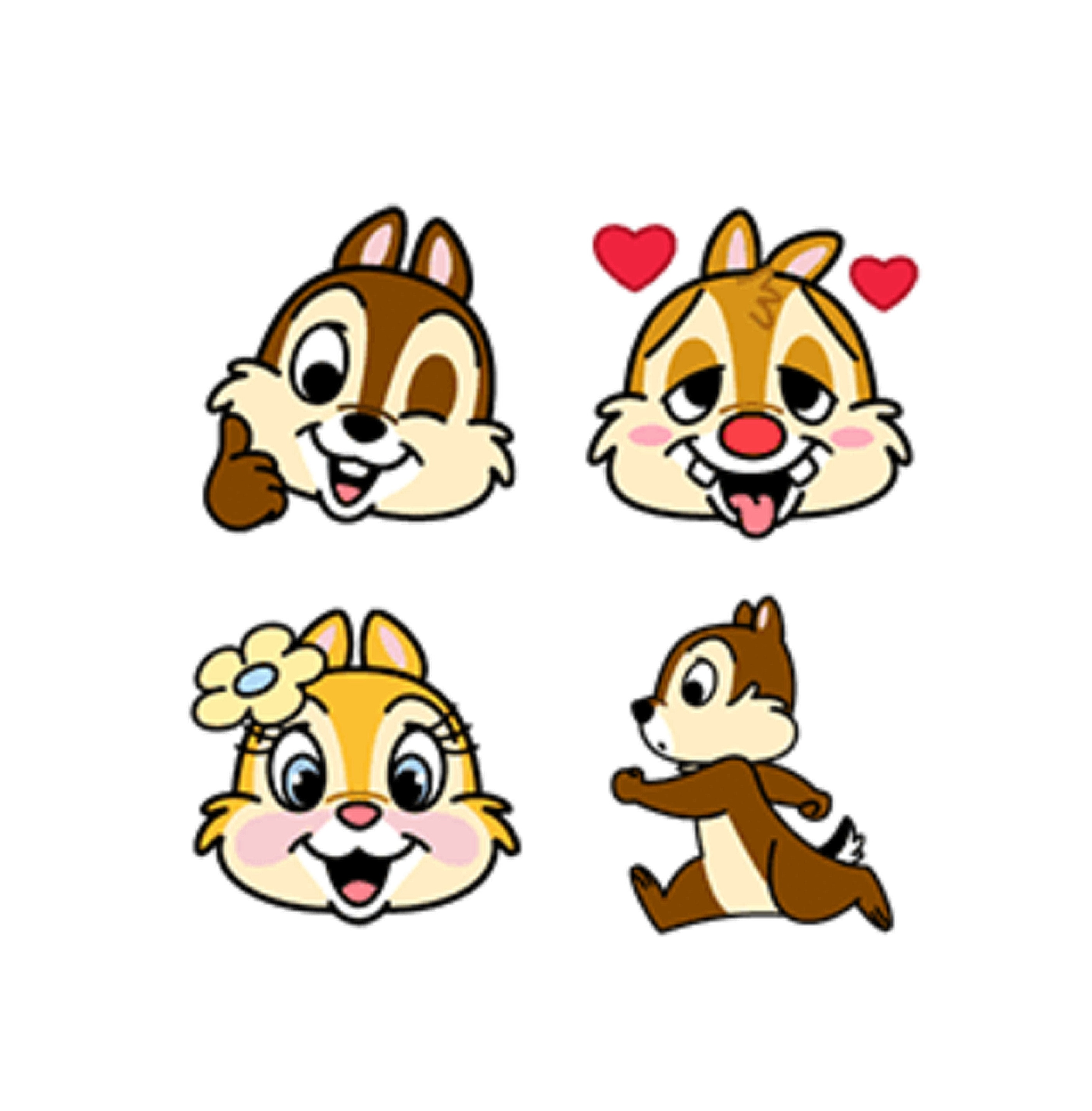 Stickers | Chip 'n' Dale Emoji