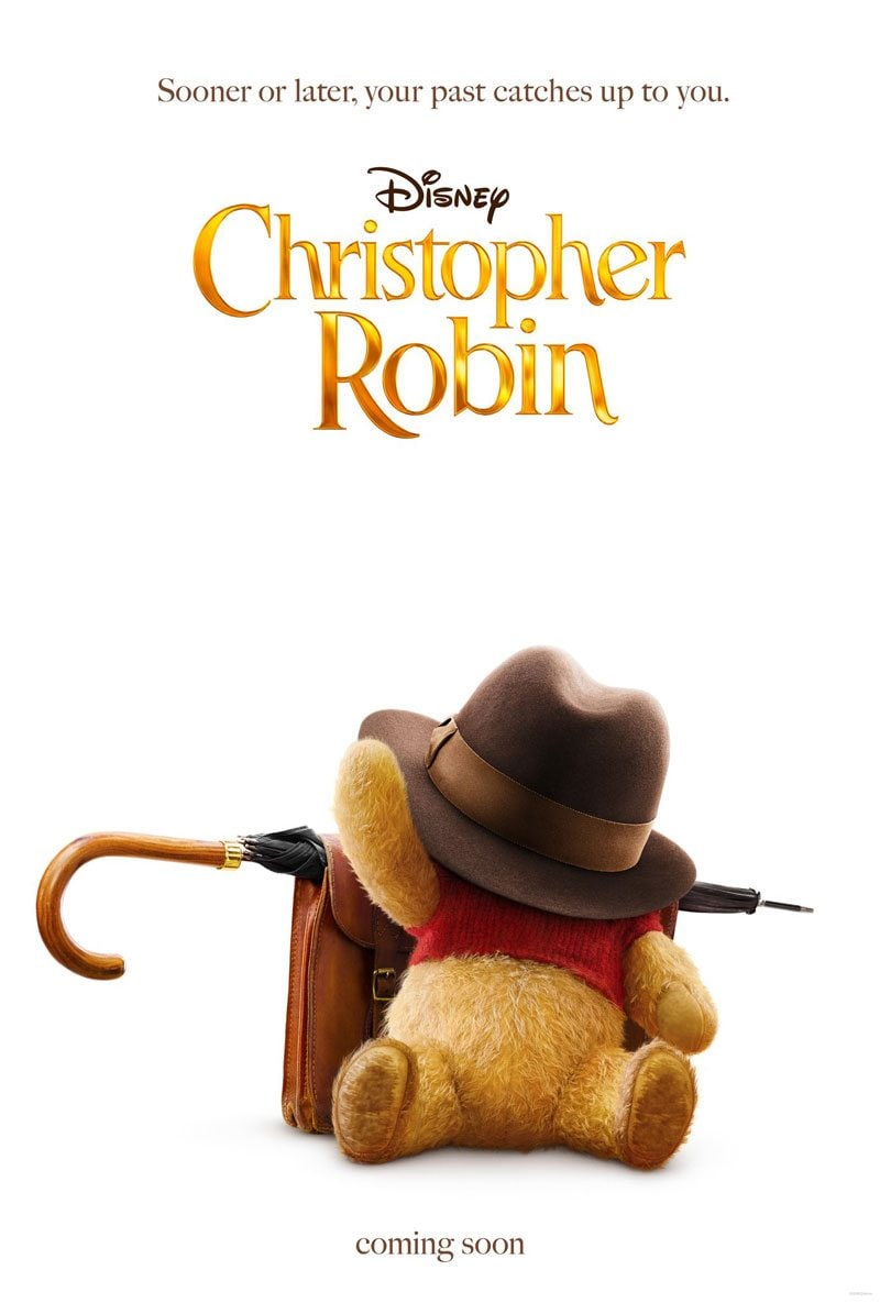 Winnie the pooh in Christopher Robin poster