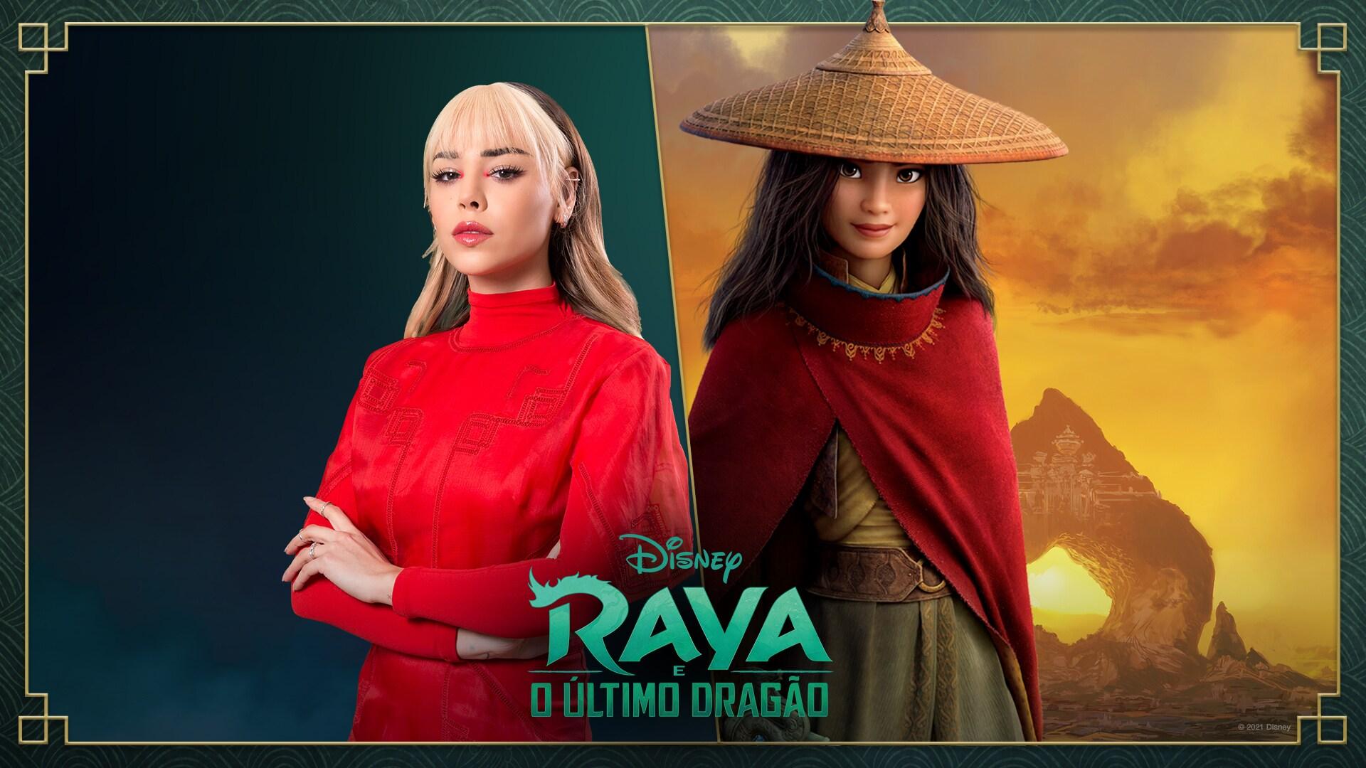 """Danna Paola vai dublar Raya na versão espanhol do filme """"Raya e o Último Dragão"""""""