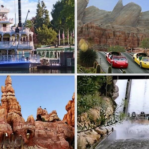 Encuentra tu Zen con tranquilas escenas de Disneyland Resort
