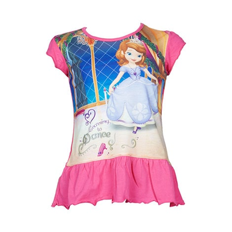 Sofia The First BABY T-Shirt Pink By Cool Kids