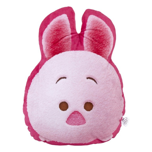 Disney Tsum Tsum Piglet Cushion-Pink