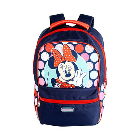 Disney Minnie Mouse Backpack Bubble Blue By American Tourister
