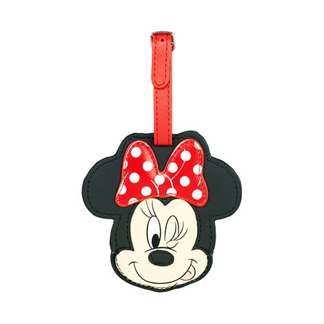 Disney Minnie Mouse Luggage Tag Floral By American Tourister
