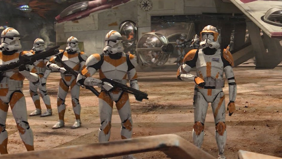 Image result for clone trooper phase 2 revenge of the sith