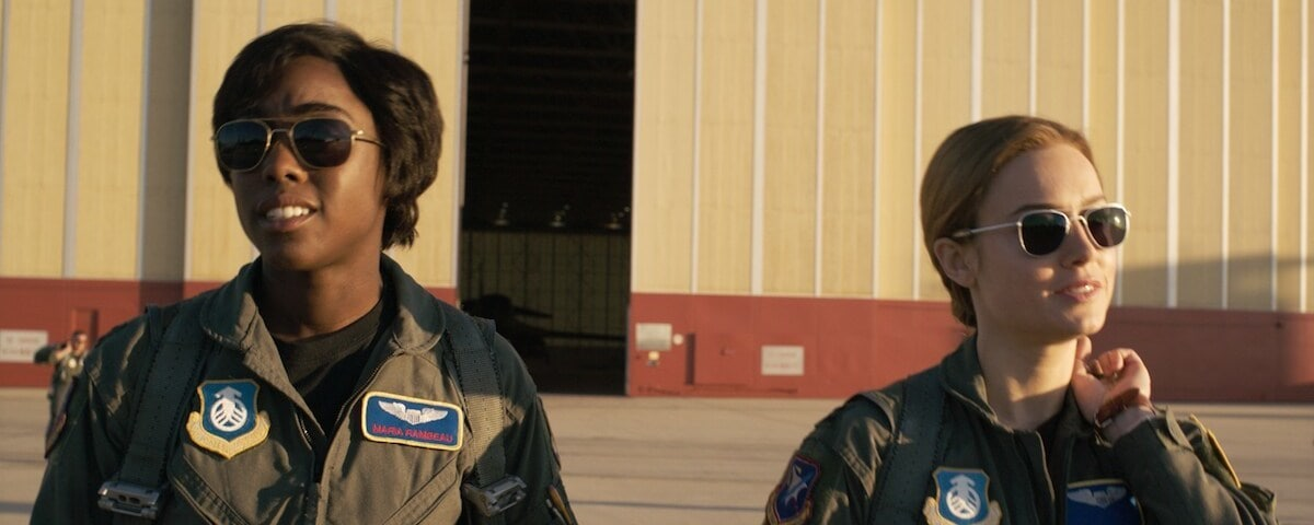 Maria Rambeau and Carol Danvers (Captain Marvel)