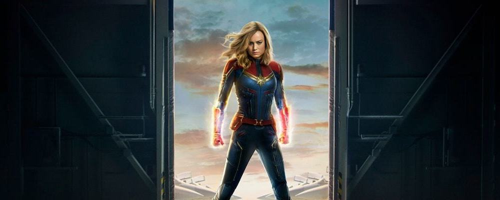 captain marvel promo