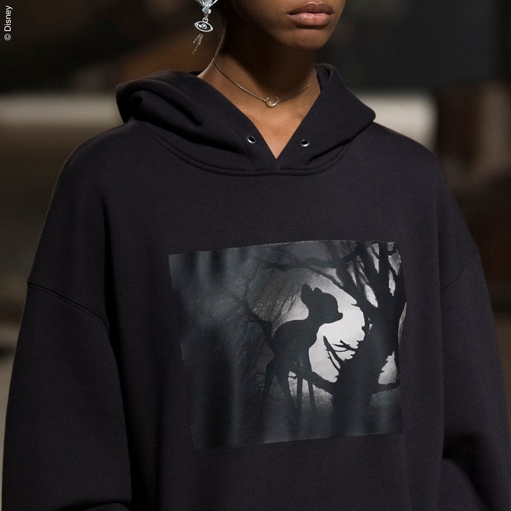 Disney themed hoodie from the Coach Spring Collection