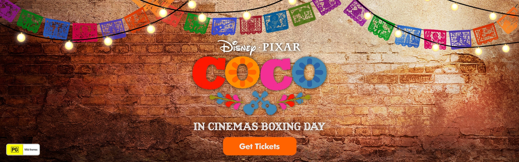 AU Coco Homepage Hero - In Cinemas