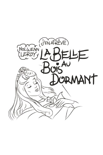 Coloriage La belle au bois dormant - We Love Disney 2