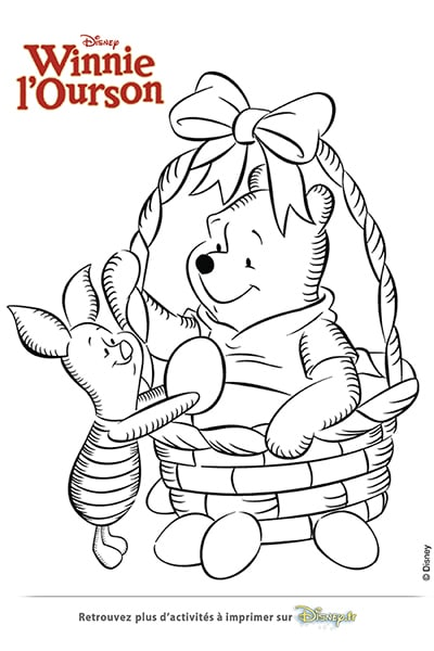 Coloriages winnie l 39 ourson - Coloriage winni l ourson ...
