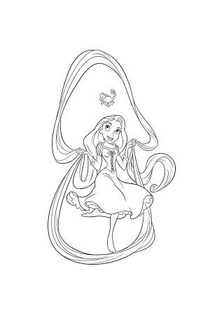 Coloriage les princesses disney avec les dessins en ligne sur - Princesse disney a colorier ...
