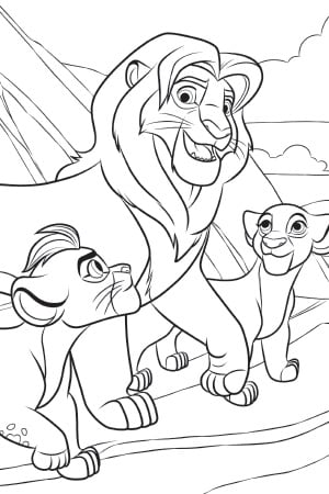 The Lion Guard Fanfiction Kion And Jasiri