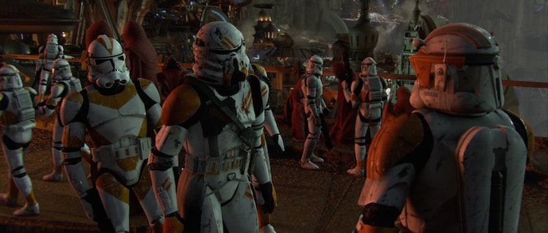 Commander Cody and the 212th Battalion on Utapau during Order 66