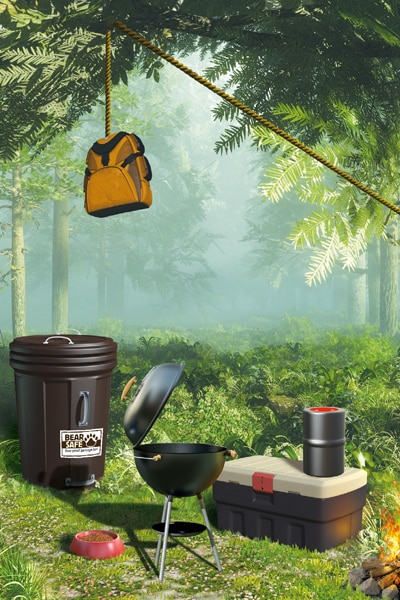 Comment camper sans risque chez les ours - Grizzly