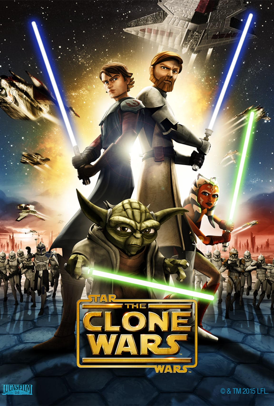 Star Wars: The Clone Wars on Disney+