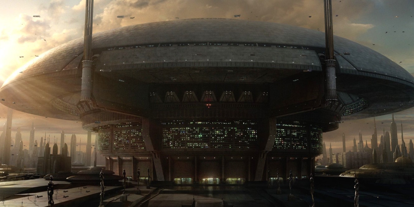 Coruscant Senate Building Starwars Com