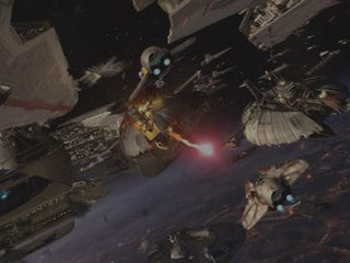 """The shroud of the dark side has fallen. Begun, the Clone War has."""