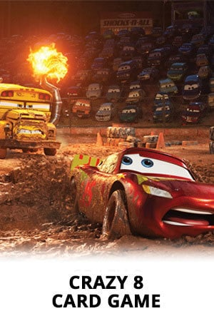Cars 3 - Crazy 8 cards Game