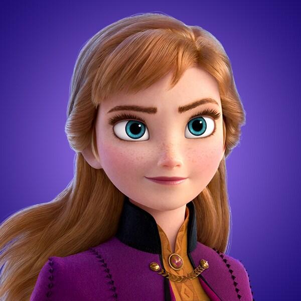 Elsa voiced by Kristen Bell from Frozen II