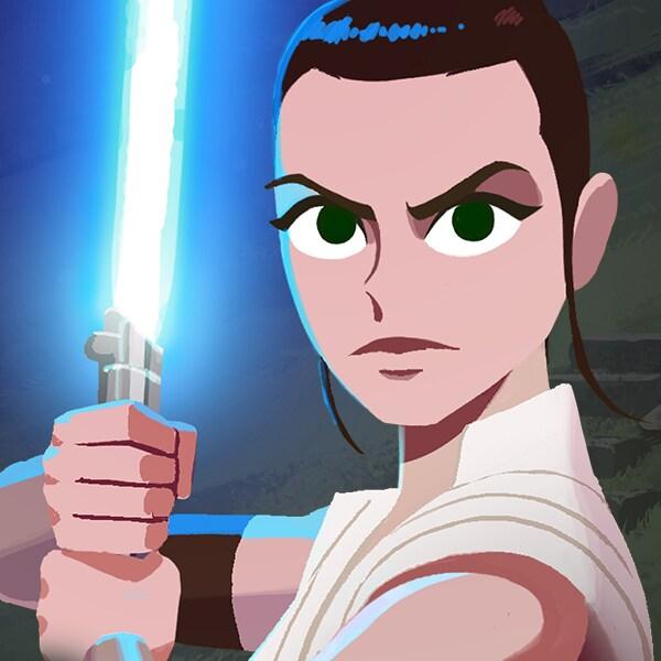 Galaxy of Adventures: Rey