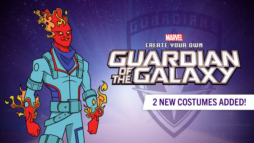 Create Your Own Guardian of the Galaxy