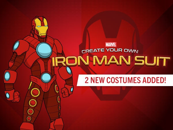 Create Your Own Iron Man Suit Avengers Games Marvel HQ