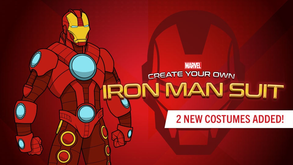 Create Your Own Iron Man Suit  sc 1 st  Marvel HQ & Create Your Own Super Hero | Marvel HQ