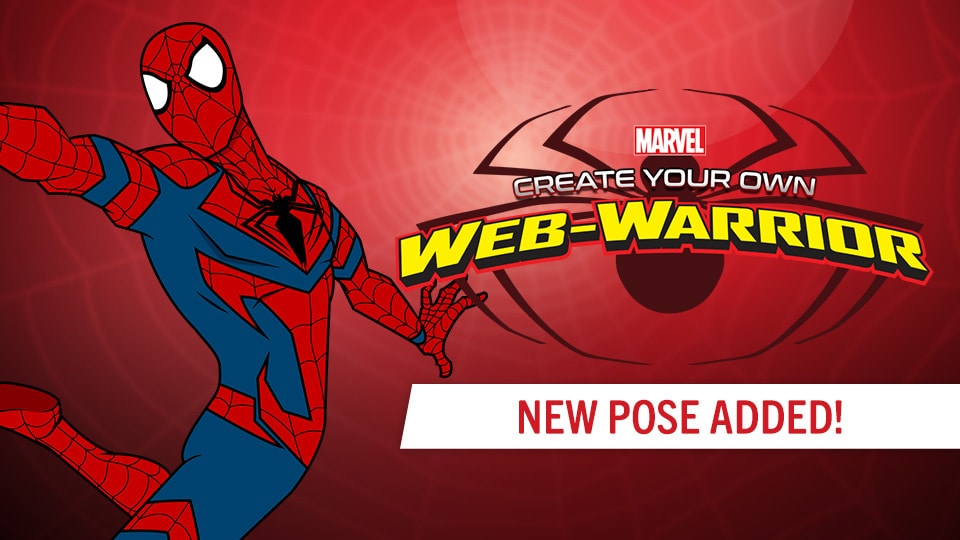 Create Your Own Web Warrior & Create Your Own Super Hero | Marvel HQ