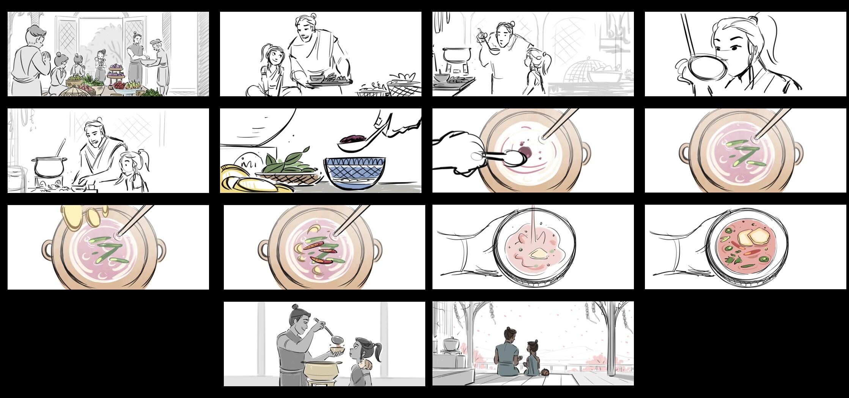Dad Wisdom Story Boards by Fawn Veerasunthorn