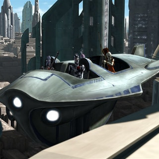Coruscant Air Taxi