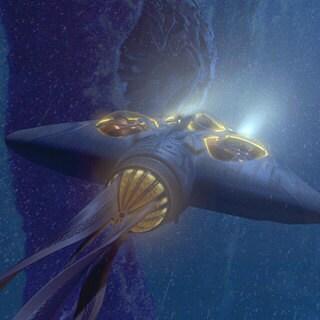 Gungan Bongo Submarine