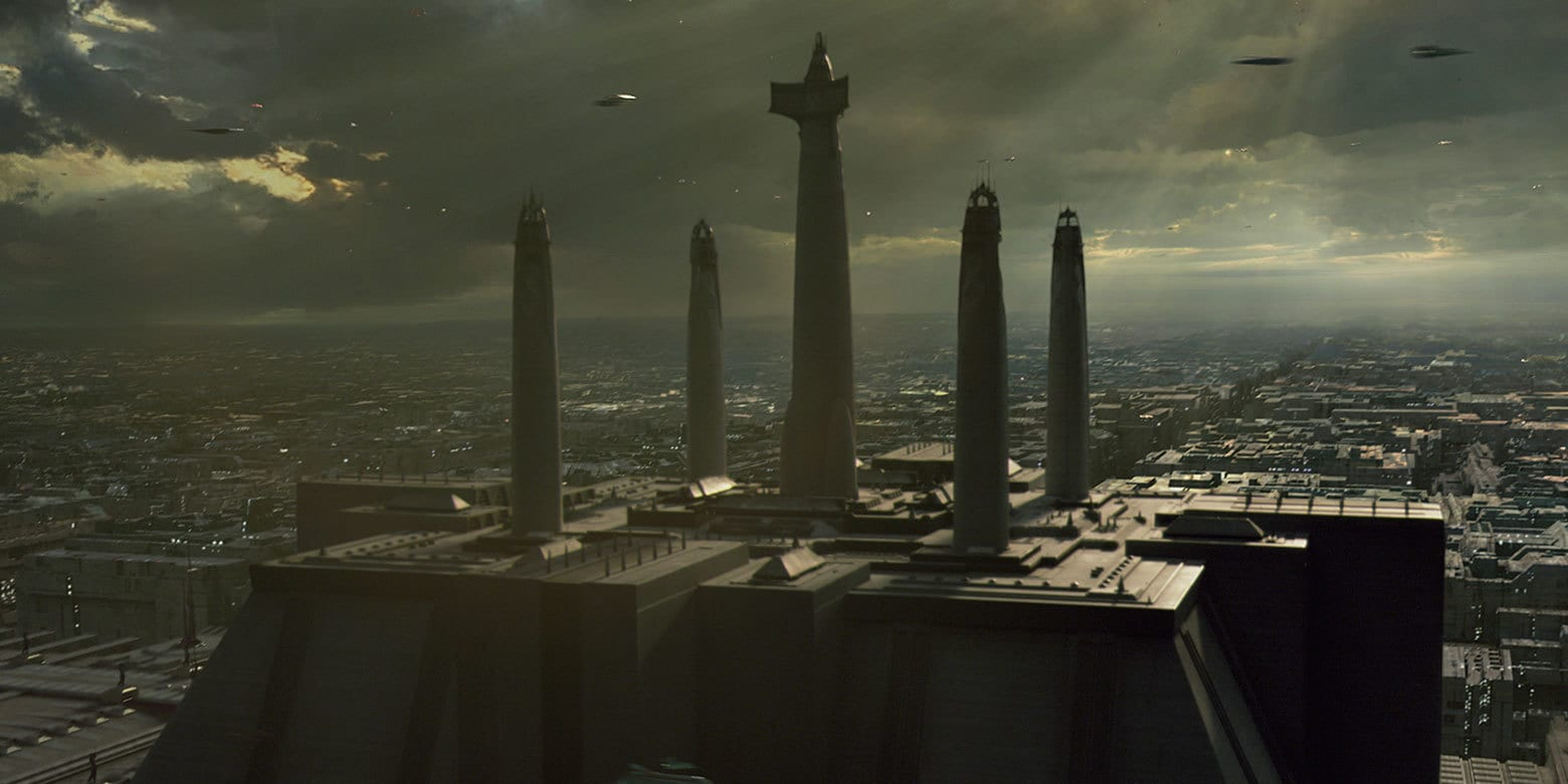 Resultado de imagen de jedi temple coruscant