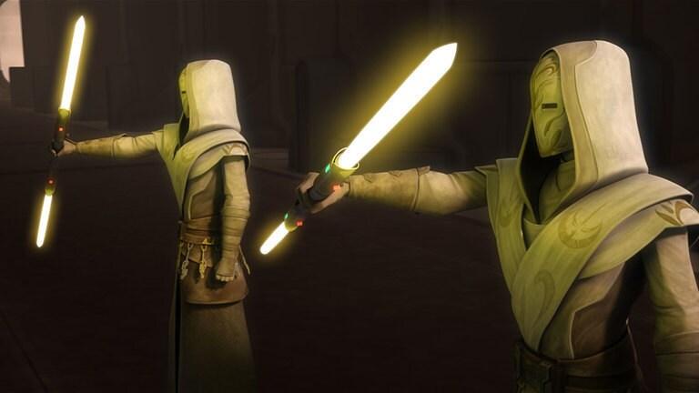 Colore della spada laser giallo