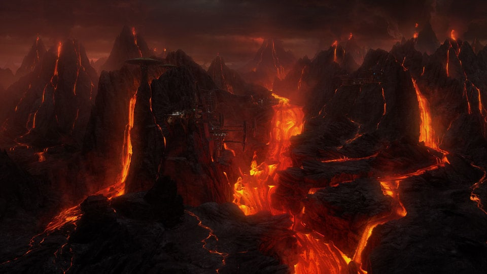 Image result for revenge of the sith mustafar