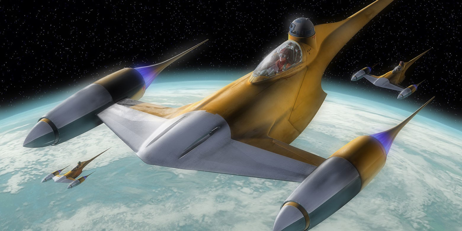 Naboo N-1 Starfighter | StarWars.com