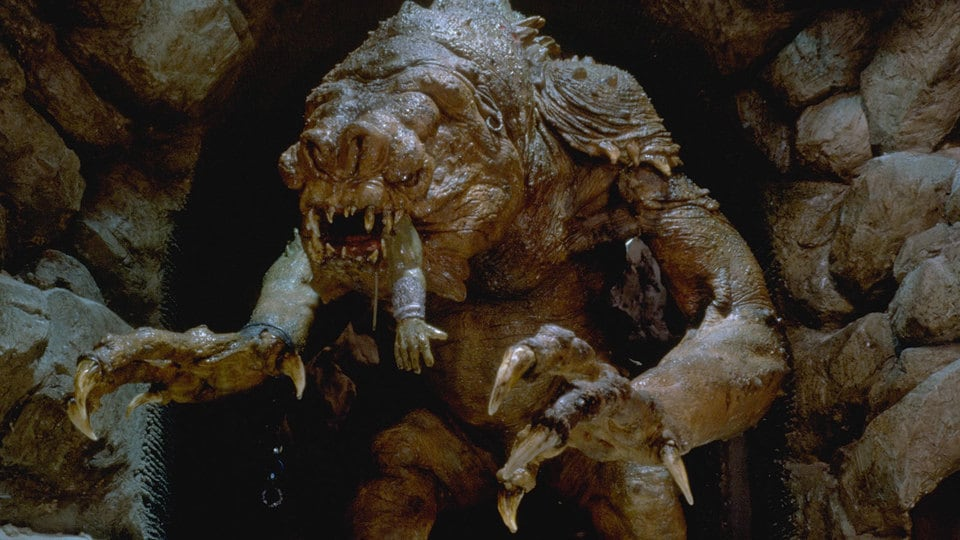 Image result for rancor star wars